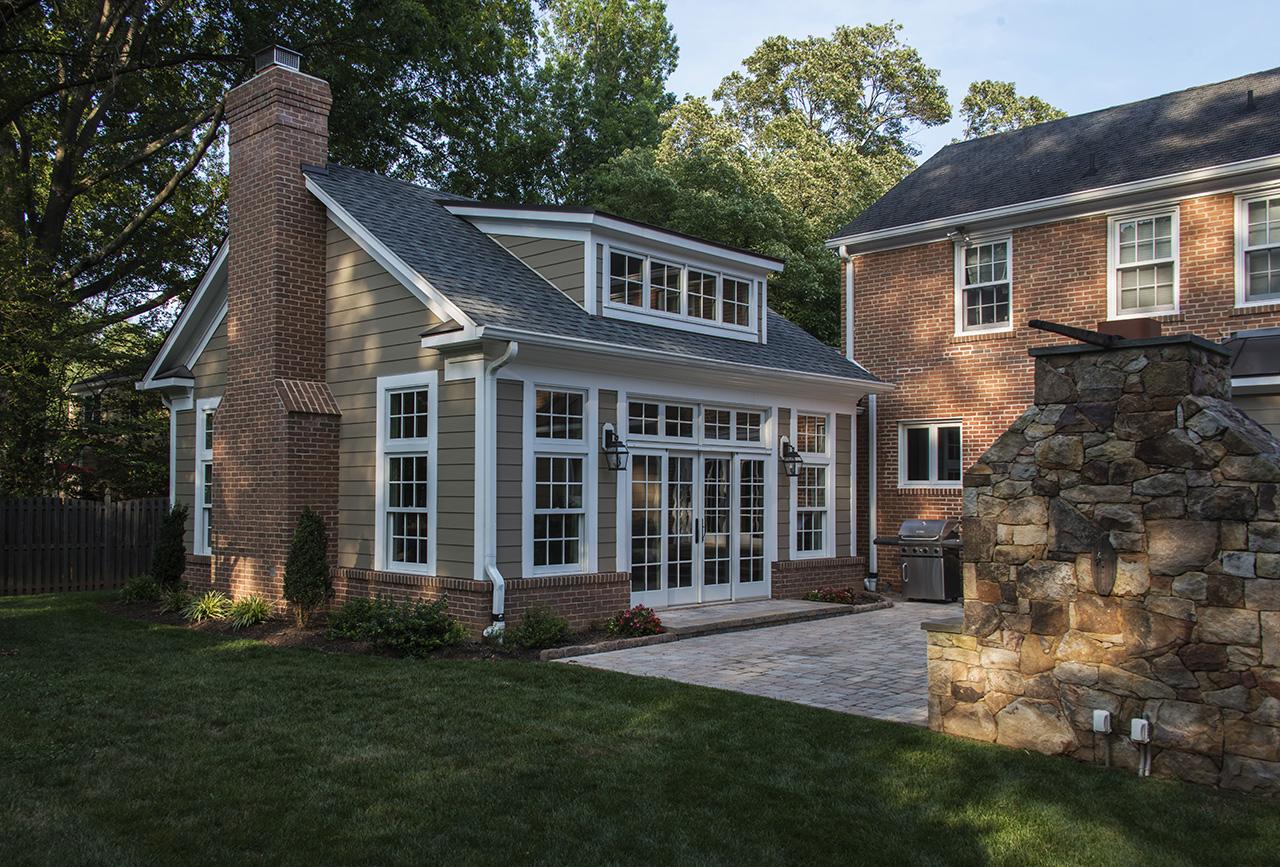Home addition architecture