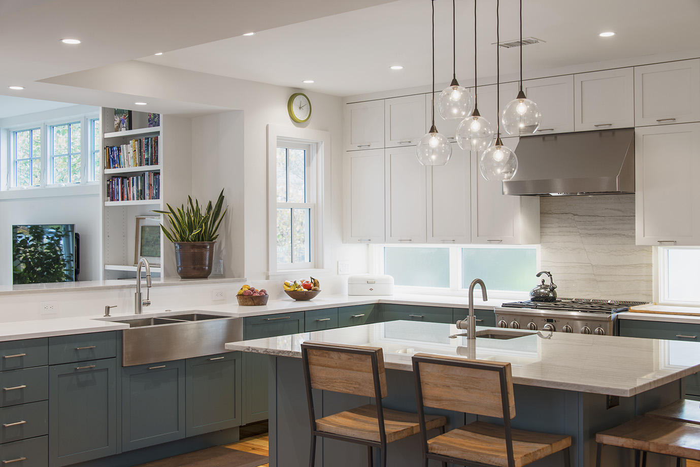Saltbox Architecture's kitchen renovation