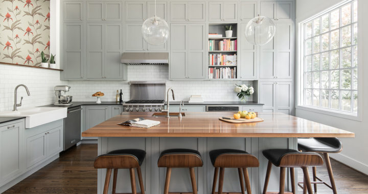 A kitchen renovation design and built for chefs