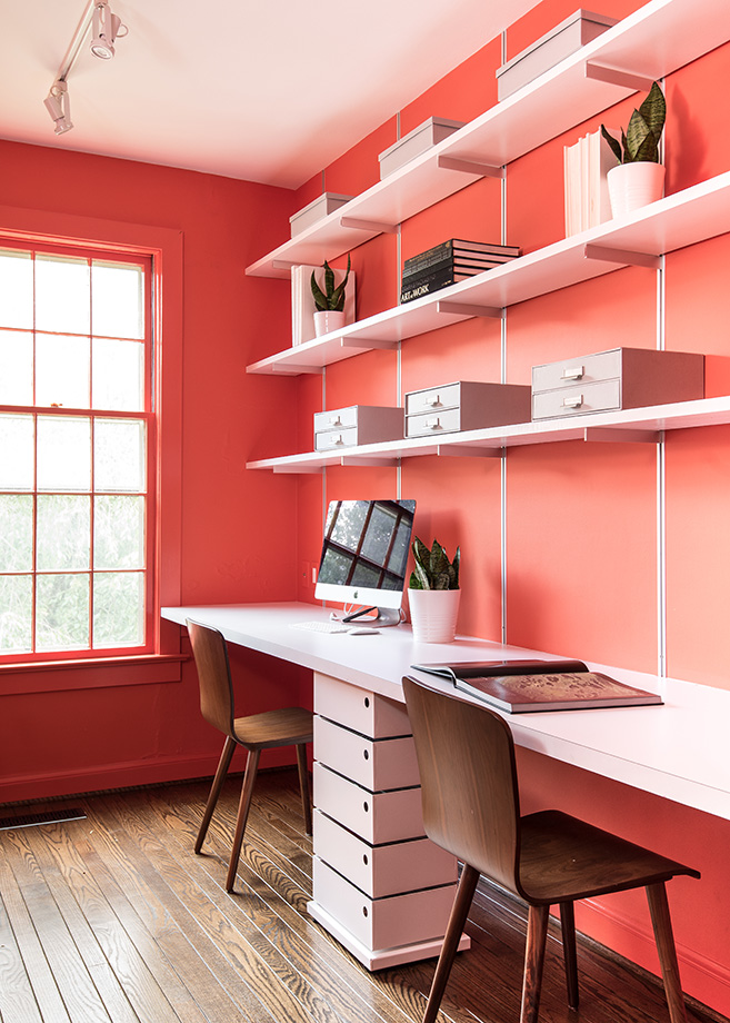 Cheery home office
