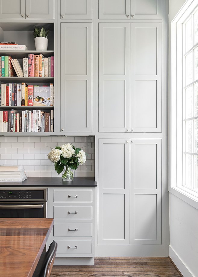 Pantry storage door