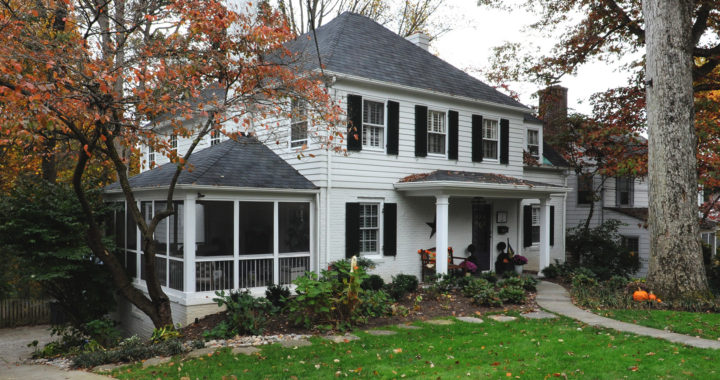 Colonial third story addition and whole house renovation