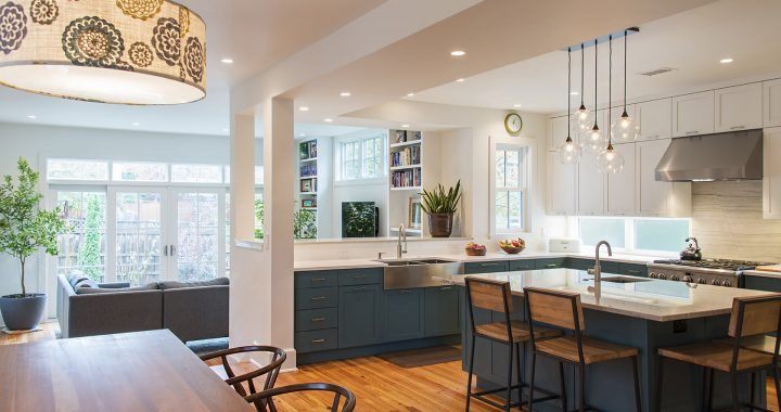 A farmhouse addition and remodel