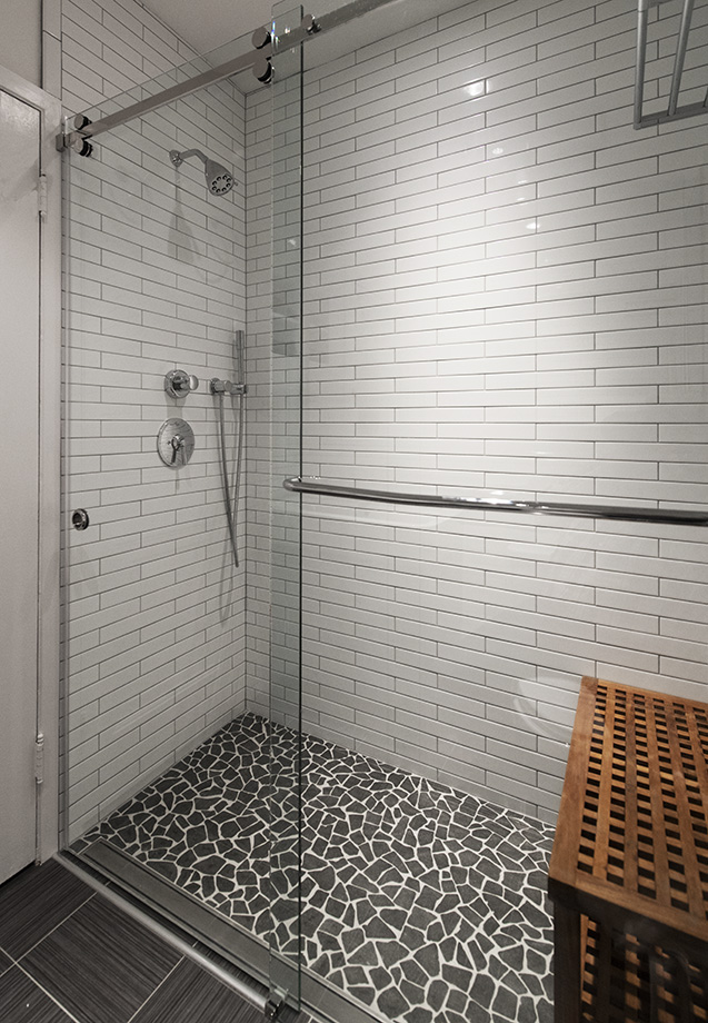 Industrial warmth shower