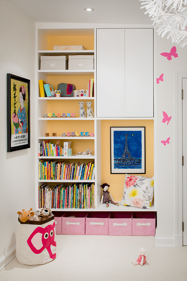 A kid's room detail
